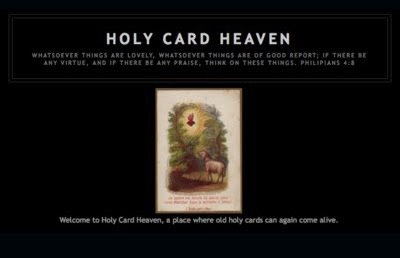 Holy Card Heaven